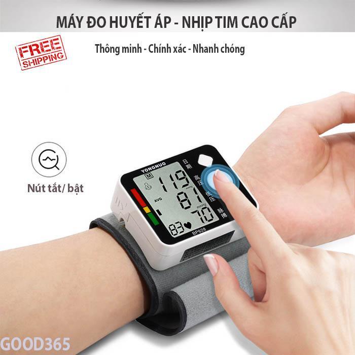 Tư vấn máy đo huyết áp, Máy Đo Huyết Áp Cao Cấp, Đo Nhịp Tim, Huyết Áp, Nhanh Chóng, Chính Xác Tuyệt Đối, BH Uy Tín 1 Đổi 1 Bởi Good 3652 nhập khẩu