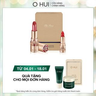 Bộ 2 son lì dưỡng ẩm ngăn lão hóa OHUI The First Geniture Lipstick thumbnail