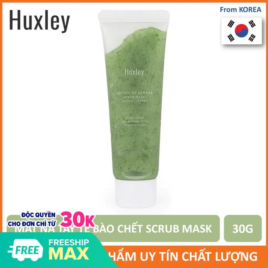 Mặt Nạ Tẩy Tế Bào Chết Huxley Scrub Mask: Sweet Therapy 30g (Mini Size)