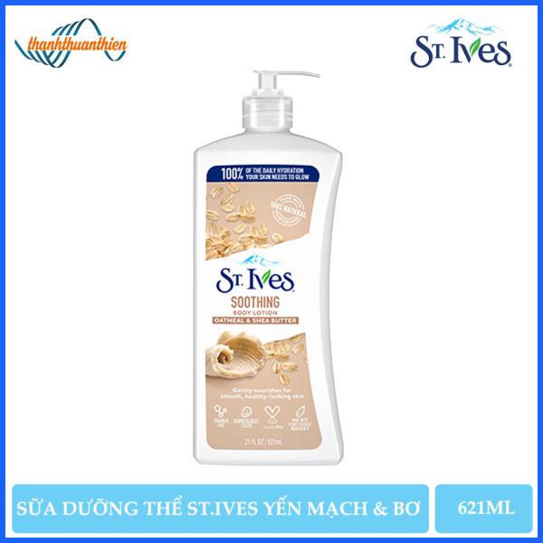 [HCM]Sữa Dưỡng Thể St.Ives Yến Mạch Và Bơ (621ml) cao cấp