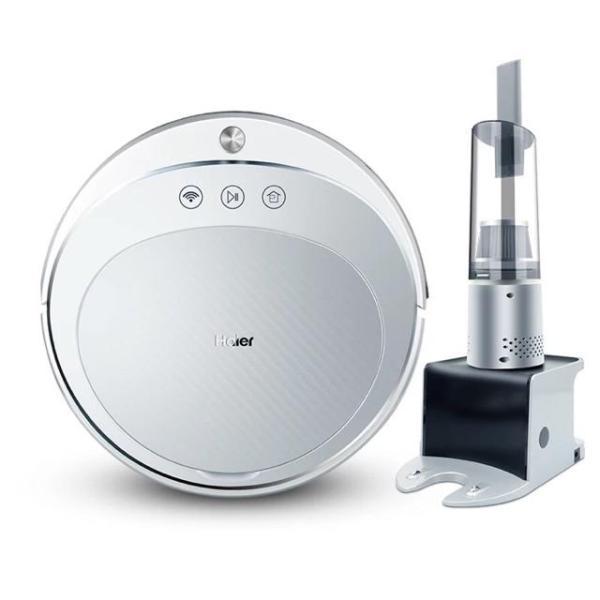 Robot hút bụi lau nhà Haier TAB-T550WSC, máy hút bụi thông minh, kèm máy hút bụi cầm tay - -Bảo hành 12 tháng - Thế giới gia dụng 4.0