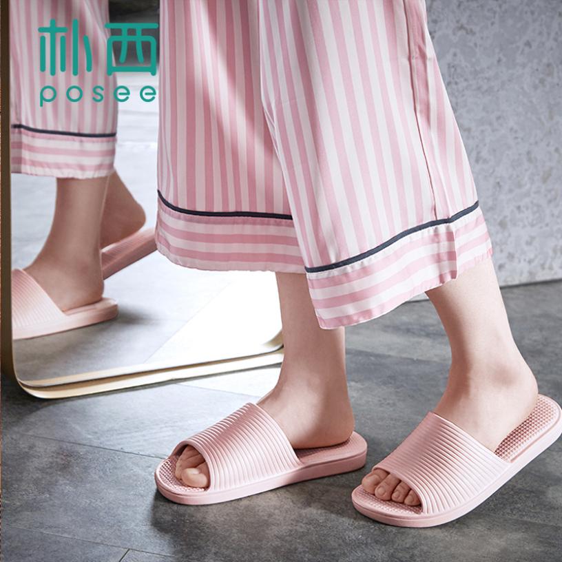 POSEE EVA Tắm Giày Dép Dép Nhà Dép Slides Non-slip Khô Nhanh Nhà Trong Nhà PS2910 giá rẻ