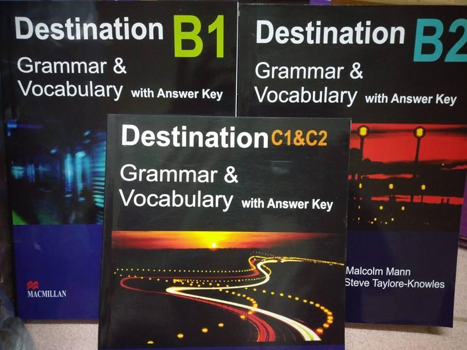 Offer Khuyến Mại Combo 3 Quyển Destination B1, B2 Và C1, C2 (Đen Trắng)