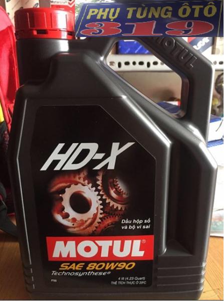 Nhớt Hộp Số Sàn Motul HD-X 80W-90 (4L)
