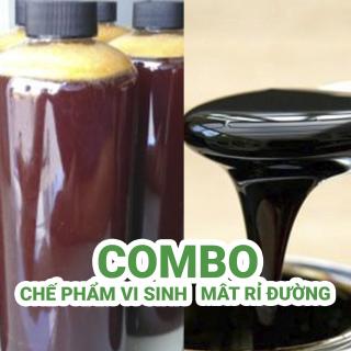 Combo 1 lít chế phẩm vi sinh + 1 lít mật rỉ đường thumbnail