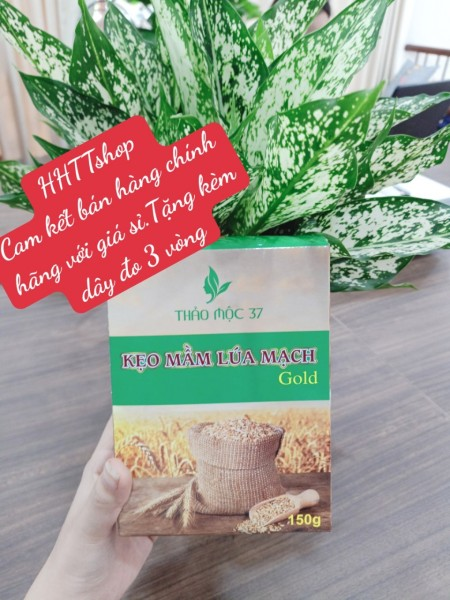 [ COMBO 5 hôp ] Kẹo mầm lúa mạch gold Thảo Mộc 37+ Tăng zize vòng 1 giá rẻ