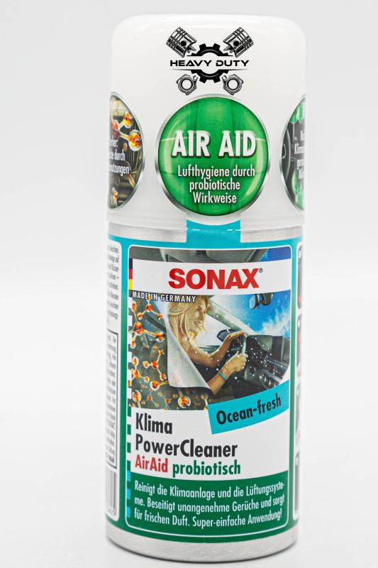 Chất Khử Mùi Làm Sạch Dàn Lạnh Điều Hoà Dạng Hơi Mùi Biển - Sonax A/C Cleaner Ocean Fresh 100ml