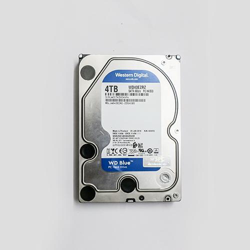 Giá Ổ Cứng HDD 4TB WD Blue- SATA 6GB/s - WD40EZRZ - Made in Thailand Hàng chính hãng