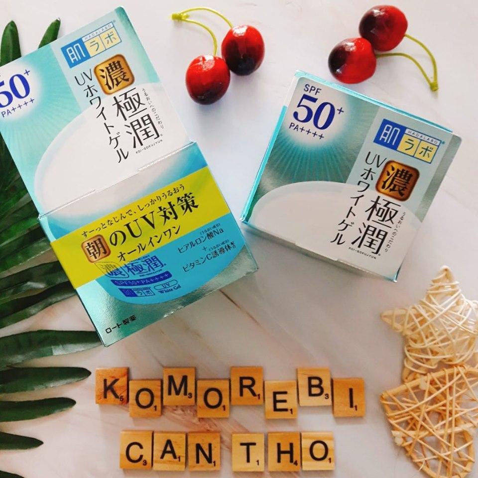 Kem Dưỡng Và Chống Nắng HadaLabo SPF50+ PA++++ 90G Nhật Bản