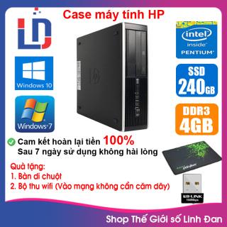 Case máy tính HP CPU Dual core E5xxx i5-3330 RAM 4GB HDD 250GB-500GB SSD 120GB-240GB [QUÀ TẶNG Bộ thu wifi, bàn di chuột] HPi53 LLD thumbnail