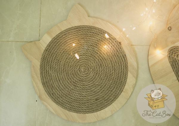 Bàn cào móng cho mèo hình tròn kích thước 30cm