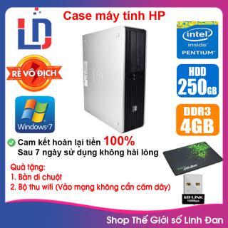 Case máy tính HP CPU Dual Core E5xxx Core i5-4430 Ram 4GB HDD 250GB-500GB SSD 120GB-240GB [QUÀ TẶNG Bộ thu wifi, bàn di chuột] thumbnail
