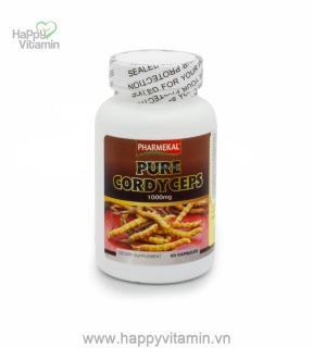 Viên Uống Đông Trùng Hạ Thảo Pure Cordyceps Pharmekal - 60 Viên thumbnail