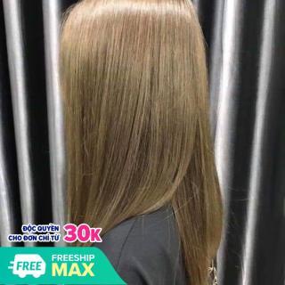Thuốc nhuộm tóc màu Nâu Oliu (Kèm oxi và găng tay) thumbnail