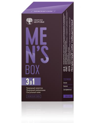 Viên uống hỗ trợ sức khỏe nam giới Mens Box- Siberi nhập khẩu