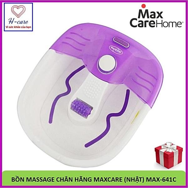 Bồn massage chân Maxcare Max-641C  - Bồn ngâm mát xa chân sức khỏe Nhật bản nhập khẩu giá rẻ [TBYT H-Care]