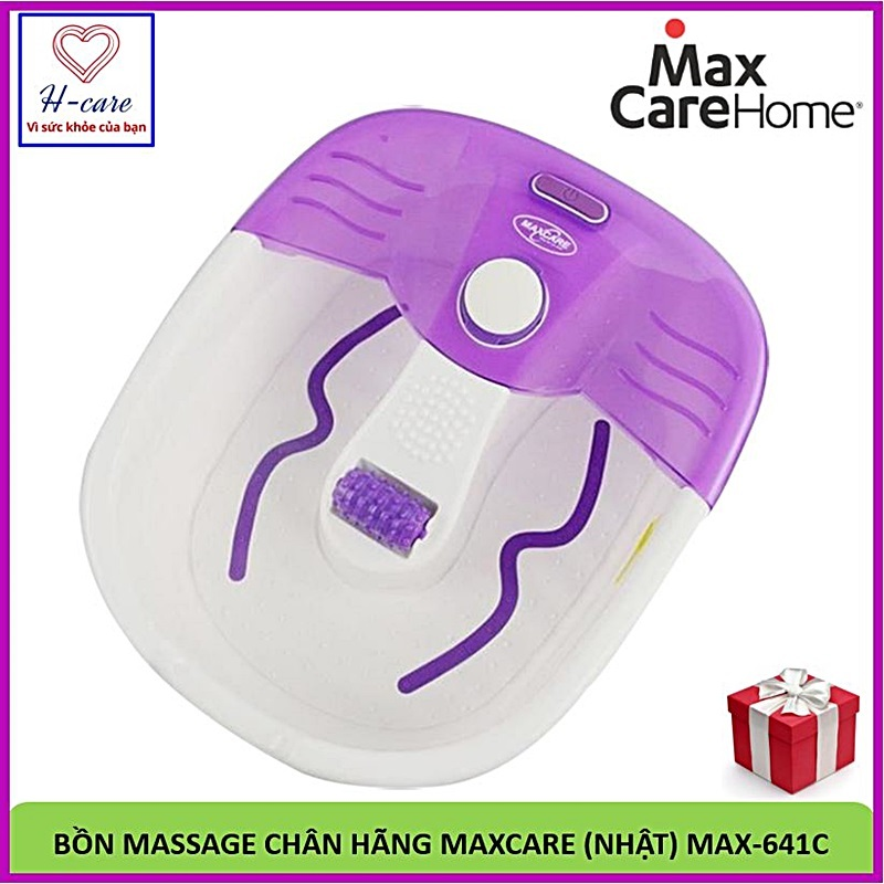 Bồn massage chân Maxcare Max-641C  - Bồn ngâm mát xa chân sức khỏe Nhật bản nhập khẩu giá rẻ [TBYT H-Care] cao cấp
