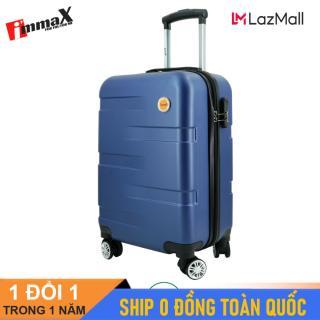 [ MIỄN PHÍ SHIP] Vali nhựa immaX X14 có size 20inch xách tay lên máy bay và size 24inh ký gửi hành lý thumbnail
