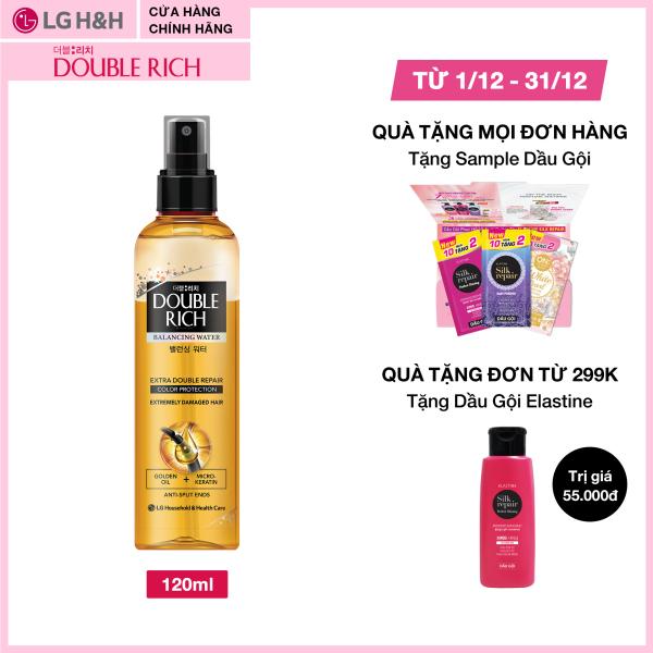 Nước dưỡng nuôi dưỡng tóc óng mượt cho tóc nhuộm Double Rich Extra Double Repair 120ml