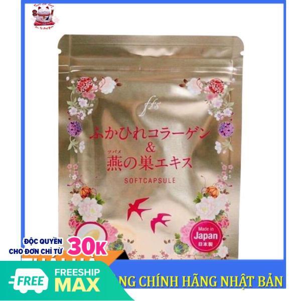 Viên Uống Collagen Tươi Tổ Yến Và Nhau Thai Softcapsule 30 Viên Nhật Bản nhập khẩu