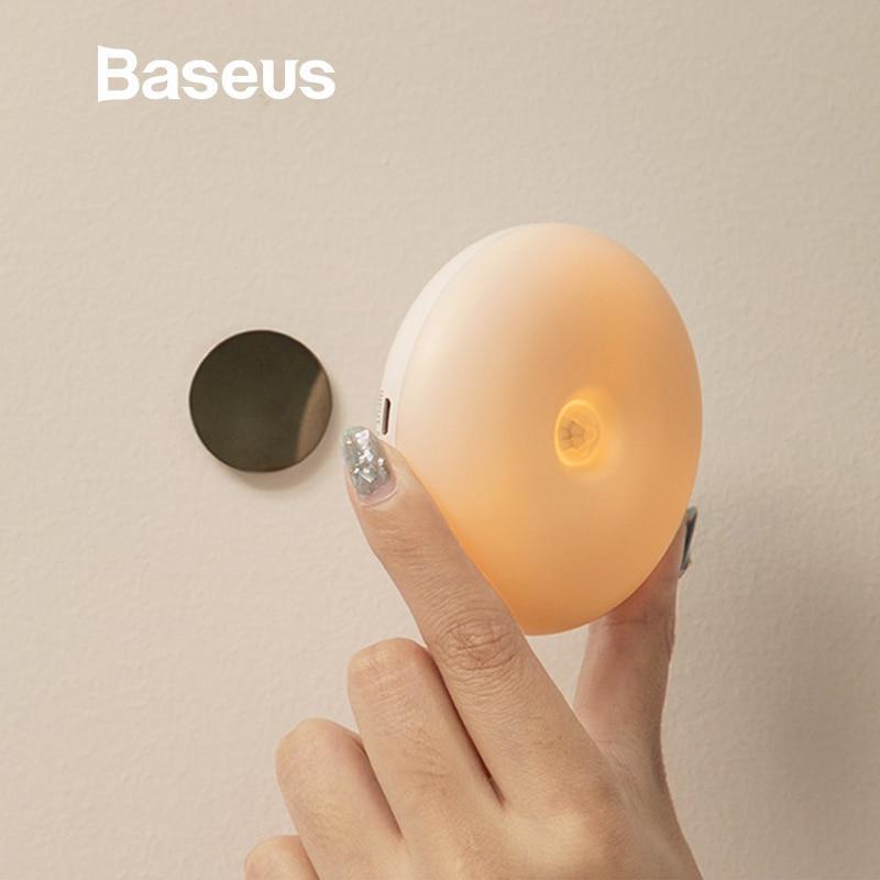 Đèn ngủ cảm biến Baseus Intelligent Induction Nightlight Garden series - Pin sạc