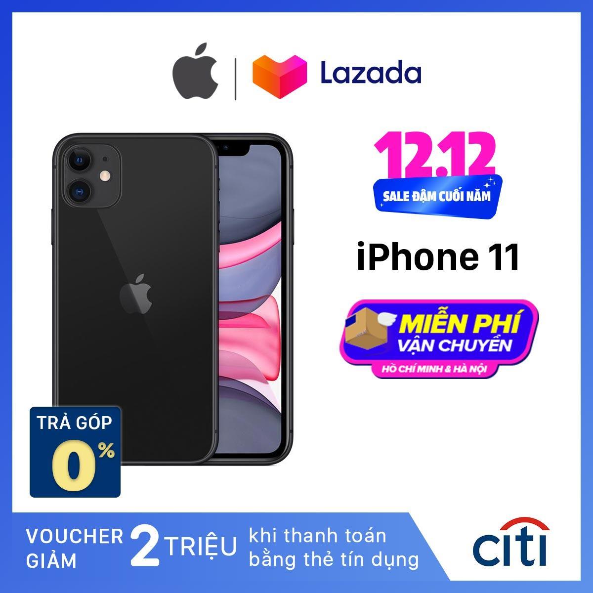 Điện Thoại Apple IPhone 11 - Hàng Chính Hãng VN/A - Màn Hình Liquid Retina HD 6.1inch Face ID Chống Nước Chip A13 2 Camera Có Giá Rất Cạnh Tranh