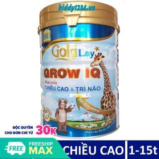 Sữa Goldlay Grow phát triển chiều cao trí não lon 900g cho trẻ 1-15 tuổi thumbnail