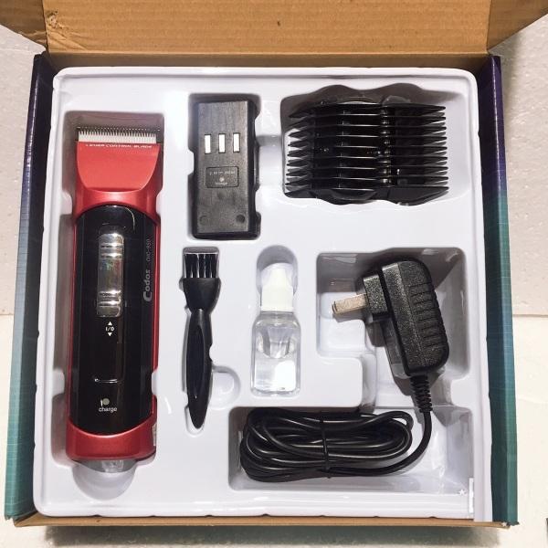 Tông đơ cắt tóc Codos CHC950 lưỡi răng bằng sứ không gỉ, sắc bén, vận hành êm ái, thiết kế chuyên nghiệp