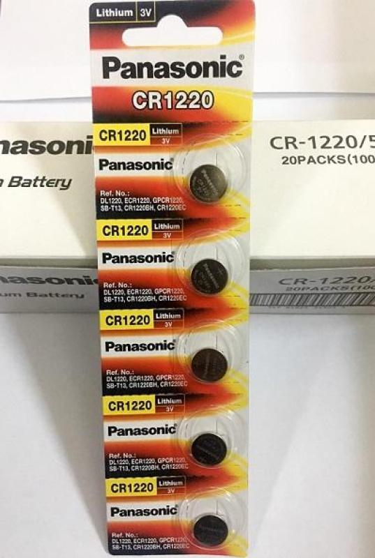 CR1220 Panasonic Vỉ 5Viên