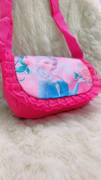 Giá bán Túi Đeo Vai In Hình Công Chúa Elsa Anna Dễ Thương Cho Bé Gái