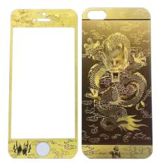 Hình ảnh Miếng dán cường lực Iphone 5/5S/SE - Tempered Glass Protector (Vàng kim)