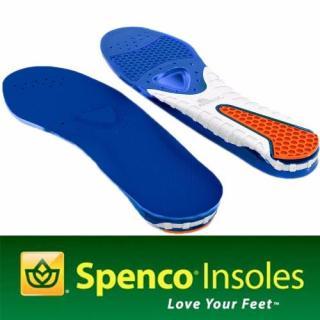 Miếng lót giày hỗ trợ đau gót Spenco Gel Comfort size 2 (38-40) (Xanh) thumbnail