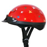 Mũ Bảo Hiểm Khong Kinh Take Suti Đỏ Sao Rẻ