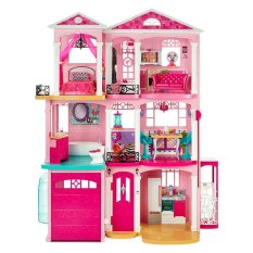 Hình ảnh Ngôi nhà trong mơ của Barbie Barbie Dreamhouse