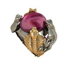 Giá Bán Nhẫn Nam 4 Con Rắn Thao Linh Jewelry Rm0834 Nguyên