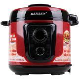 Nồi Ap Suất Điện Sanaky Snk 53C 5L Đỏ Rẻ