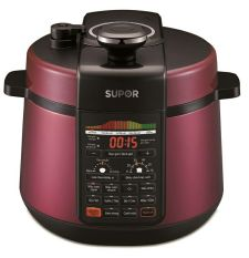 Hình ảnh Nồi áp suất điện Supor CYSB50YC520QVN-100 5L (Đỏ)