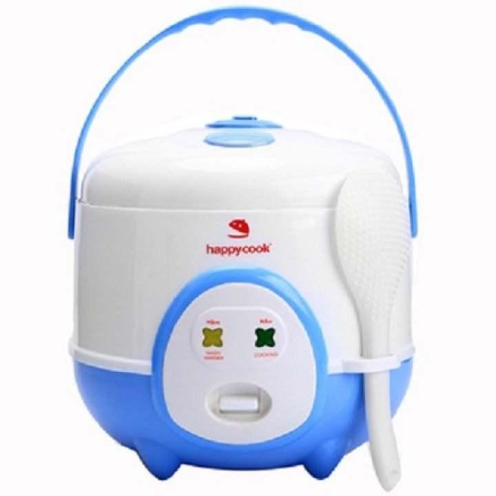 Nồi Cơm Điện HappyCook HC-060 0.6 lít (Trắng phối xanh)