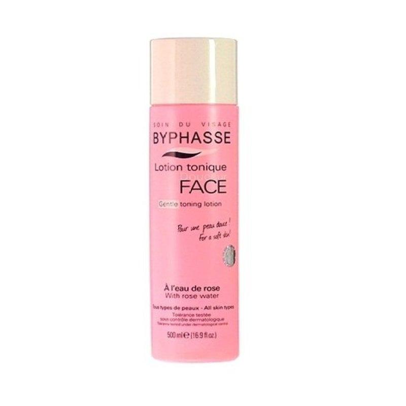 Nước hoa hồng dưỡng da Byphasse Face Soft Toner Lotion 500ml cao cấp
