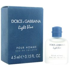 Ôn Tập Tốt Nhất Nuớc Hoa Nam Dolce Gabbana Light Blue Pour Homme Eau De Toilette 4 5Ml