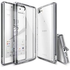 Cửa Hàng Ốp Lưng Cho Sony Xperia Z5 Compact Ringke Fusion Smoke Black Hang Nhập Khẩu Rẻ Nhất