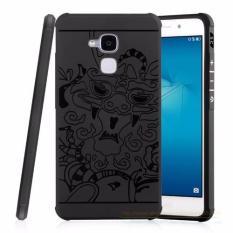 Ôn Tập Ốp Lưng Chống Sốc Hoa Văn Cho Huawei Gr5 Mini Honor 5C Đen