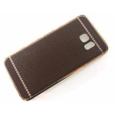 Ốp Lưng Dẻo Viền Vang Lưng Giả Da Cho Samsung Galaxy S7 Edge Aircase Chiết Khấu 50
