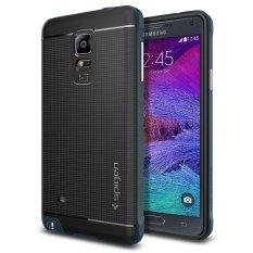 Bán Ốp Lưng Galaxy Note 4 Spigen Neo Hybrid Xanh Đen Trực Tuyến