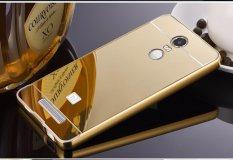 Giá Bán Ốp Lưng Trang Gương Viền Kim Loại Cho Xiaomi Redmi Note 3 Vang Oem Tốt Nhất