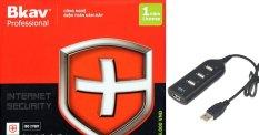 Hình ảnh Phần mềm diệt virut Bkav Pro Internet Security tặng bộ chia USB 4 cổng
