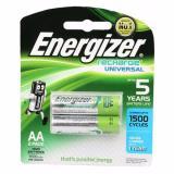 Giá Bán Pin Sạc Aa Energizer 1500 Mah Vỉ 2 Vien Trực Tuyến Hà Nội