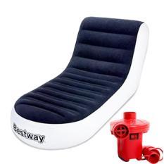 Ghế Hơi Tựa Lưng Bestway Kem Bơm Điện Hut Xả 2 Chiều Bestway Chiết Khấu 30
