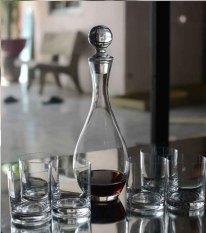 Bán Binh Decanter Vang Hở Đựng Rượu Dung Tich 1000Ml