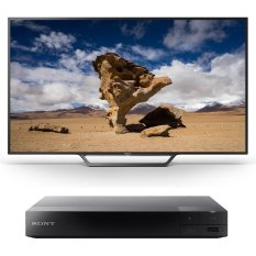 Hình ảnh Tivi Sony LED Bravia 48 inch Full HD - Model KDL-48W650D (Đen) + Tặng 1 Đầu đĩa Bluray Sony BDP-S1500 (Đen)